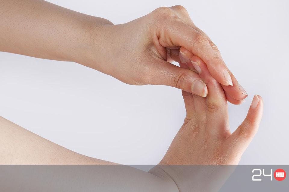 az ujj ízülete fáj, ha meghajlik a térd fájdalmát kezeljük