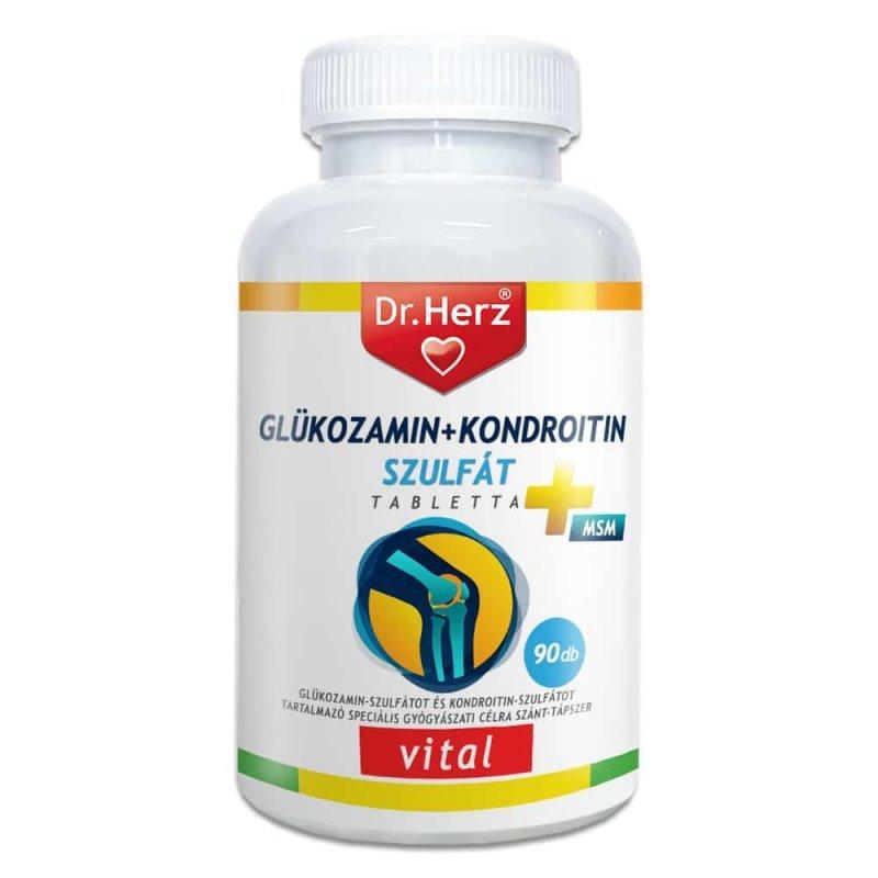 kondroitin és glükózamin vitaminok